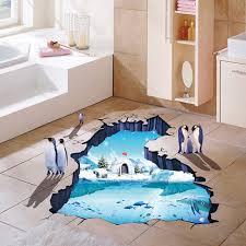 home design 3d remove wall cartoon floor wall sticker remove vinyl environmental 3d polar ice