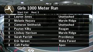 carisha videos jdl fast track videos girls 1000m section 3 david oliver