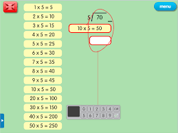division by chunking a year 5 division resource for ipad and android