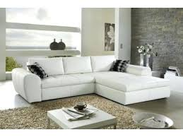 canap blanc simili cuir canape convertible blanc simili cuir decoration d angle pas cher