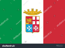 Italy Flag Images Italy Flag Official Colors Proportion Naval Stock Illustration