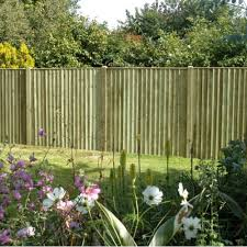 feather edge fence panel 6ft x 6ft green at wooden supplies uk