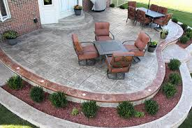 Patios Designs Biondo Cement Patios Gallery 12 Patio Designs Stained Compass