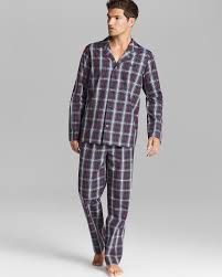 hugo plaid pajamas bloomingdale s