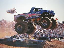 bigfoot monster truck poster u2013 atamu