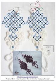 1063 best beaded earring patterns tutorials images on pinterest