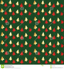 christmas pattern red green red green and gold christmas trees christmas lights decoration