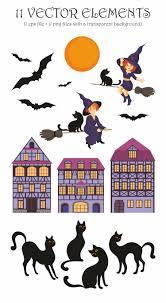 halloween vector happy halloween vector elements and se design bundles