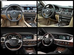 2014 mercedes s class interior photo comparison 2014 mercedes s class vs bmw 7 series facelift