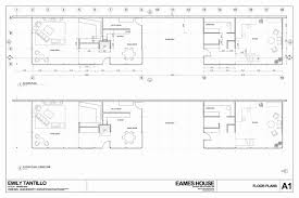 house plans with dimensions eames house plan lovely eames house floor plan dimensions house
