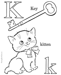kitten coloring pages to print 252 best colouring pages alphabet images on pinterest coloring