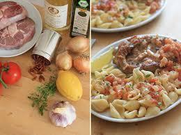 recettes cuisine italienne cuisine italienne osso bucco à la tomate au thym et aux zestes