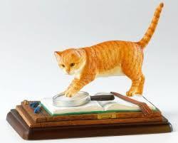 cat figurine cat ornament cat figurines