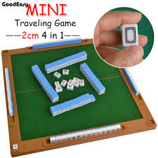 Traveling Games images 4 in 1 traveling mahjong game portable mini mahjong with mini jpg