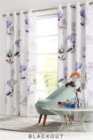 Lined Cotton Curtains Curtains And Blinds Curtains Purple Eyelet Next Usa