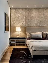 chambre lumiere décoration murale chambre a coucher avec panneau décoratif beige et