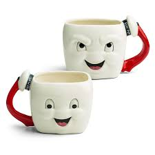 ghostbusters stay puft marshmallow mug thinkgeek noms