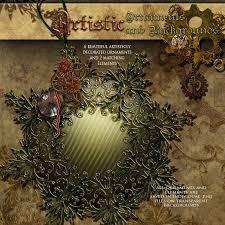 artistic ornaments backgrounds 3d models 2d graphics antje