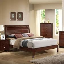 Metal Sleigh Bed Metal Beds Cymax Stores
