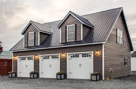 two story deluxe prefab and modular garage woodtex 28x28 prefab