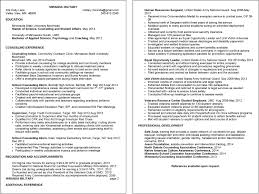 Undergraduate Resume Sample For Internship by Resume Examples Umd