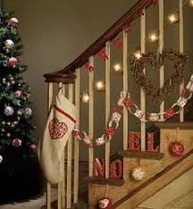 Banister Christmas Ideas Ideas About Christmas Hallway Decorating Ideas Free Home