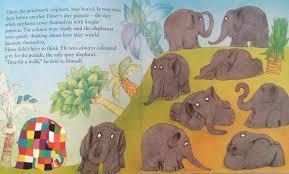 Elmer The Patchwork Elephant Story - friday flips 37 elmer books part 1