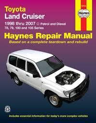 toyota landcruiser service and repair manual 9781563928826