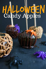 halloween candy apples u2013 craft box girls