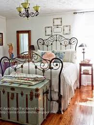 les chambres de l h e antique vintage country styled bedroom with vintage chenille bedspread