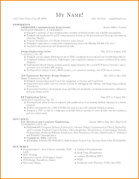 Sample Resume Undergraduate by Avionics Test Engineer Sample Resume 19 Wimax Test Engineer Sample