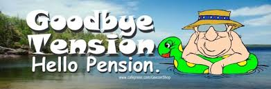 goodbye tension hello pension some senior citizen bumper stickers live each day like it s