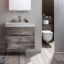 Bathroom Wall Hung Vanities Wall Hung Vanity Bathroom Vanity 23 Inch Grey Oak Bathroom