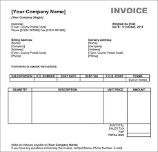printable invoice template excel sle invoice templates templates invoices free excel simple excel