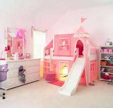 girls bed tent bedroom bunk bed with slide kropyok home interior exterior designs