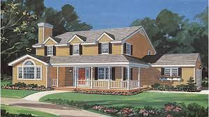 center colonial house plans center colonial hwbdo56382 farmhouse home plans from