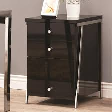 Three Drawer Wood File Cabinet by Mesmerizing Square Black Mahogany Wood Black Filing Cabinet Two