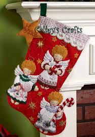 bucilla felt christmas stocking kits page 4 of 24 fth