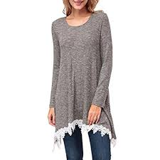womens tunic sweaters sweaters to wear with amazon com
