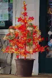 thanksgiving trees tree shaped with seasonal autumn