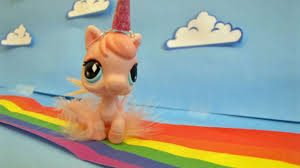 lps pink fluffy unicorns dancing on rainbows youtube