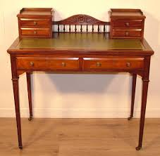 Small Writing Desk With Drawers by Attractive Small Antique Edwardian Carved Mahogany Side Hall Table