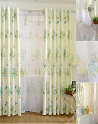 Purple Butterfly Curtains Bedroom Design Lively Butterfly Beautiful Floral Patterns Beige