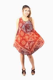 sleeveless bohemian dress hmong fabric handmade hill tribe