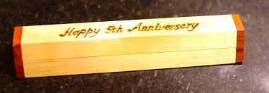 5th wedding anniversary ideas wedding yeardding anniversary gift for men ideas him 5 year