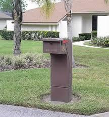 Pedestal Mailbox Mail Safe Pedestal Mailbox