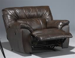 nolan leather power extra wide cuddler recliner by catnapper 64040 4