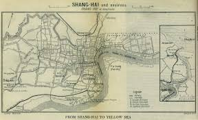Map Of Shanghai China Historical Maps Perry Castañeda Map Collection Ut