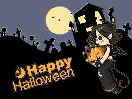 halloween anime backgrounds happy halloween wallpapers u2013 festival collections