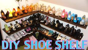 Closet Shoe Organizer Impressive How To Build Shoe Rack For Closet Ideas Hanging